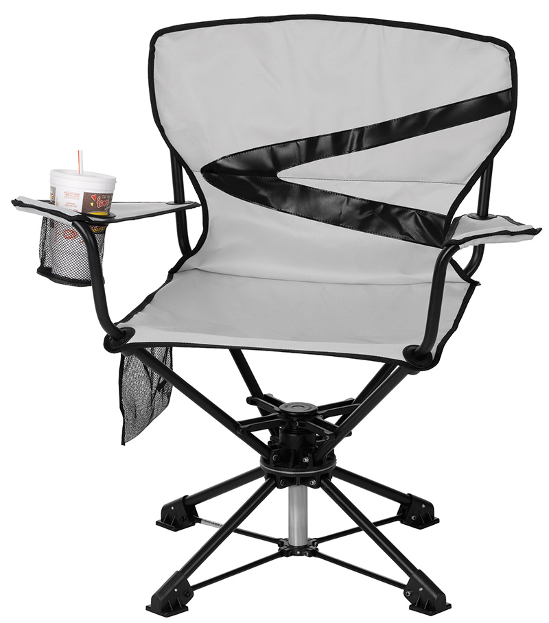 Camp/Travel Swivel Chair, with 360 swivel