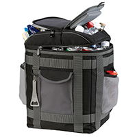 Ice Locker Ultimate Backpack Cooler, and 20oz. Vacuum Tower Bottle Set